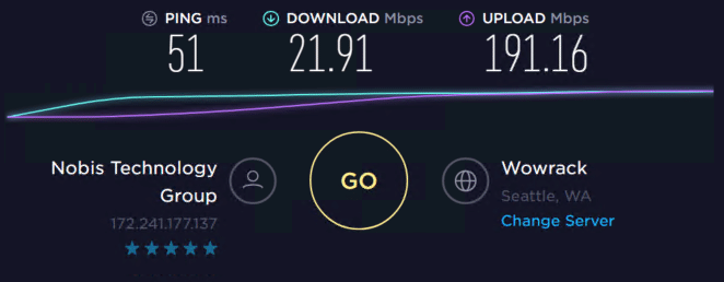 Speed test with proxies 3