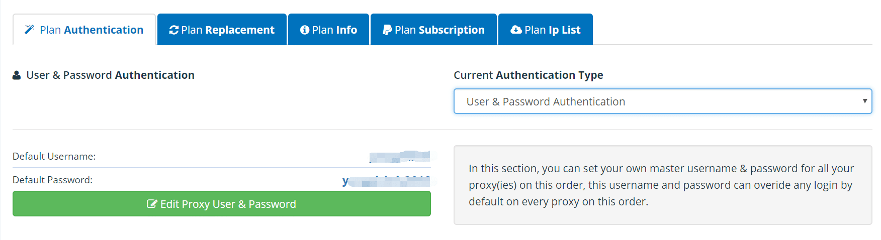 Username Authentication