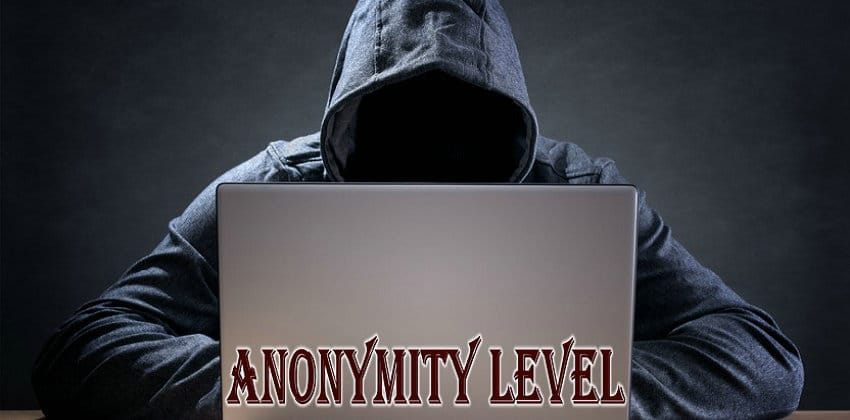 Anonymity level of HTTP proxies