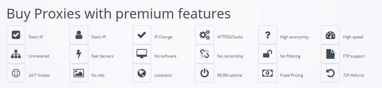 Features of BestProxyAndVPN