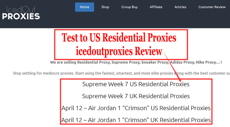 US Residential Proxies of icedoutproxies reviews