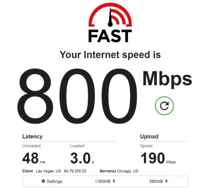 Luminati speed test ip 3