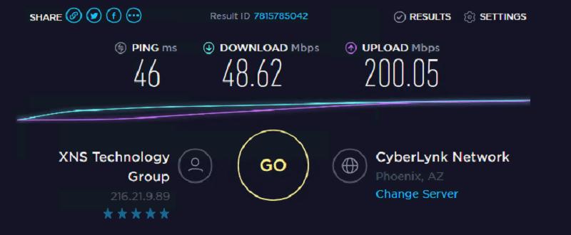 Speed test ip 10