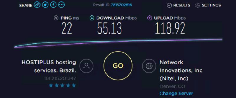 Speed test ip 3