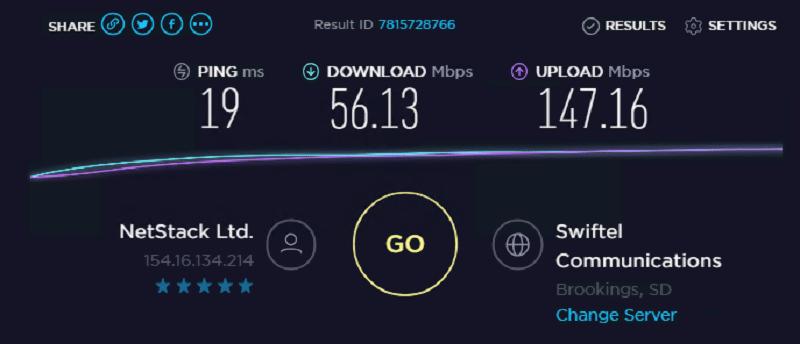 Speed test ip 5