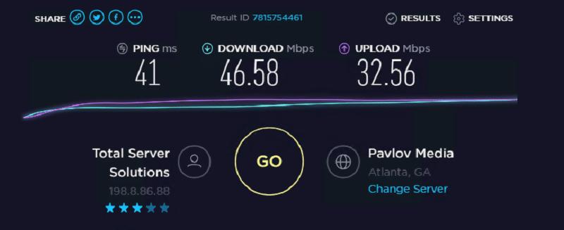 Speed test ip 7