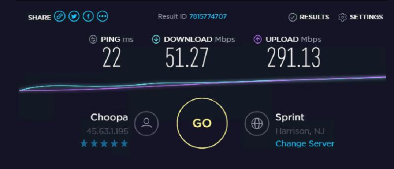Speed test ip 9