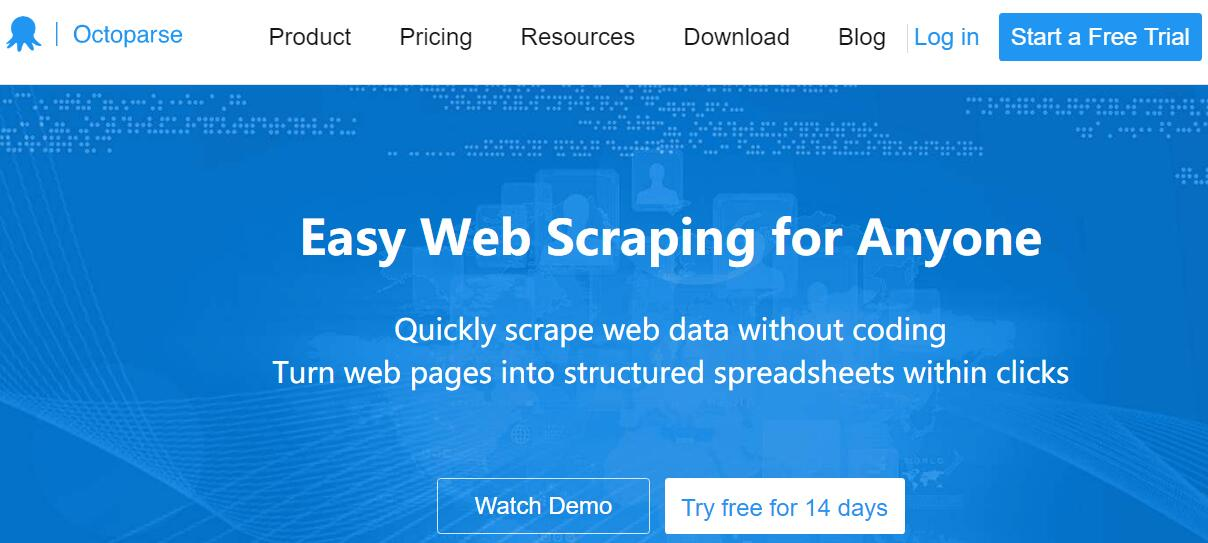 octoparse - Easy web scraping