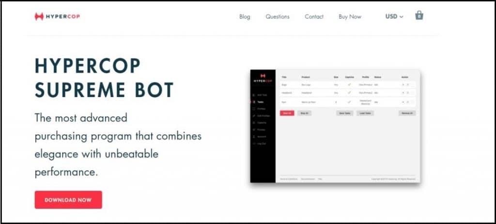 Hyper Cop Bot