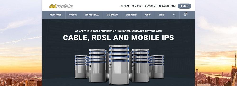DSL Rentals mobile residential
