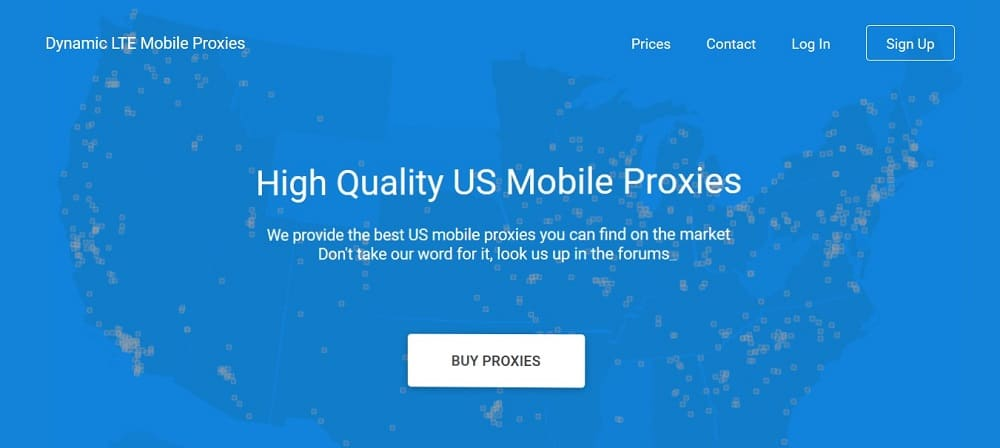 Proxy LTE mobile proxies