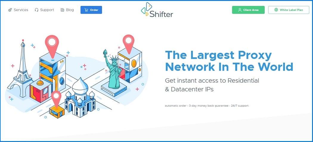 Shifter proxy service