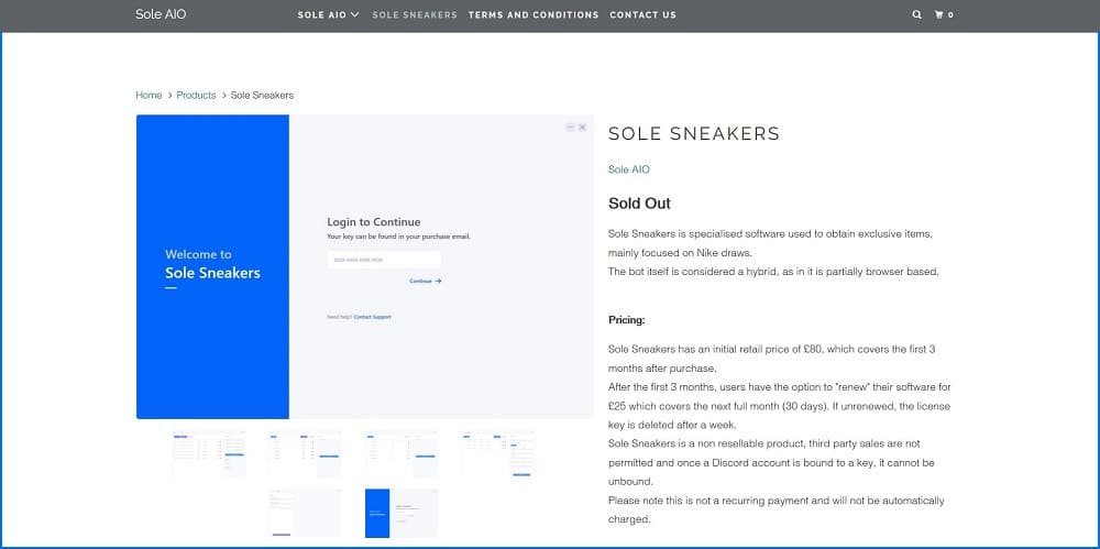 Sole Sneakers
