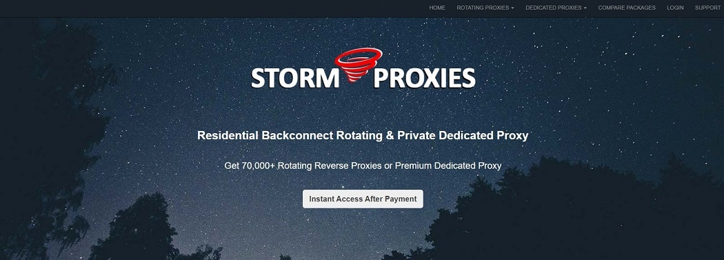 Stormproxies with unlimited bandwidth