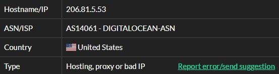 isp 2 Hola ISP test