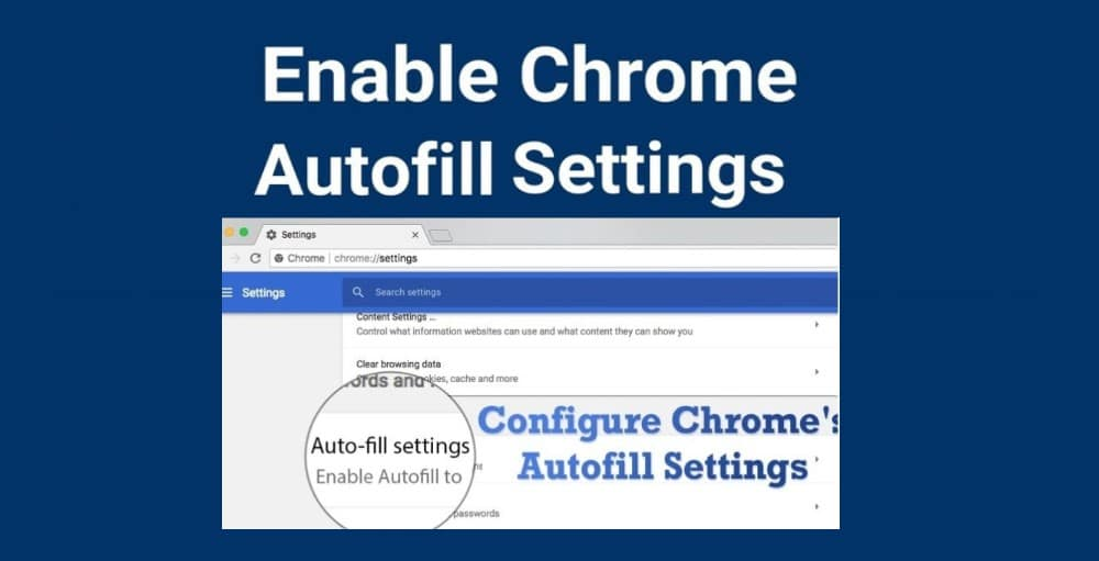 Chrome Auto-Fill