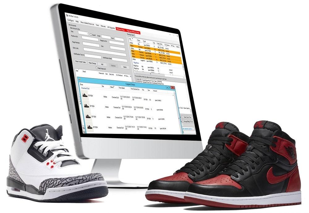 Sneaker botting process
