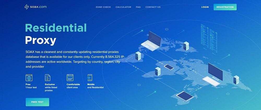 Soax Homepage