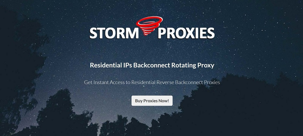 StormProxies for Shopify