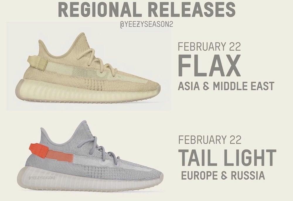 regional releases