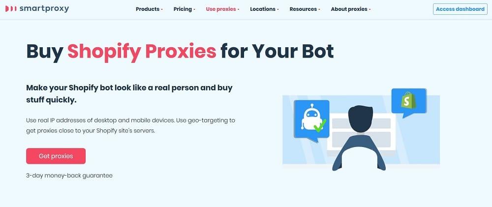 smartproxy for shopify bot