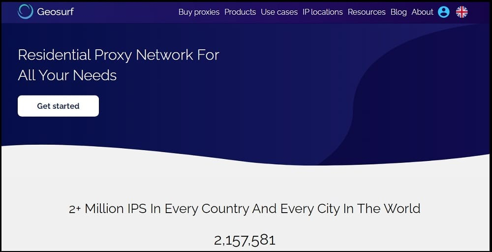 Geosurf Proxies Provider of Indian