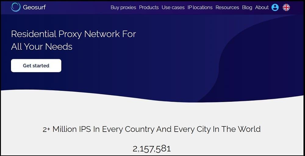 Geosurf Proxies Provider of UK