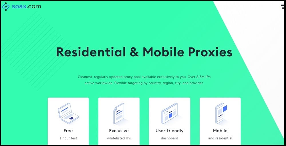Soax Proxies Provider in Indian
