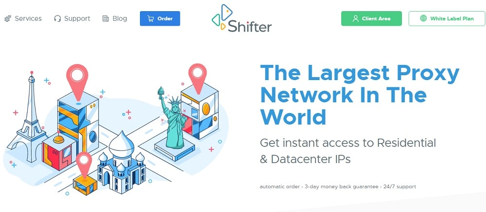 Shifter Residential Twitch Proxies