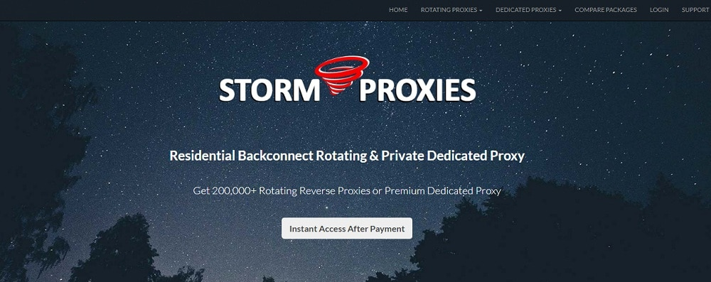 Storm Proxies for Twitch