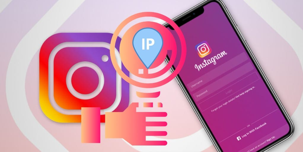 find the IP address of an Instagram user