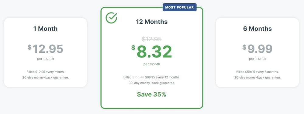 ExpressVPN Pricing and Plan