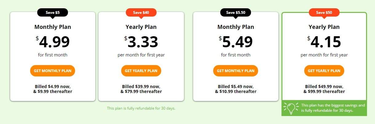IPvanish Plan and Pricing