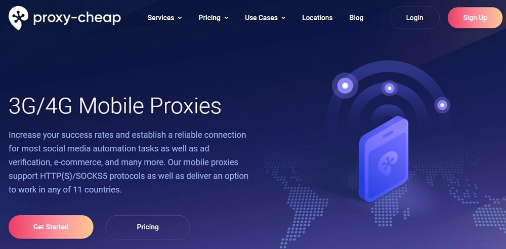 Proxy Cheap Mobile proxies Overview