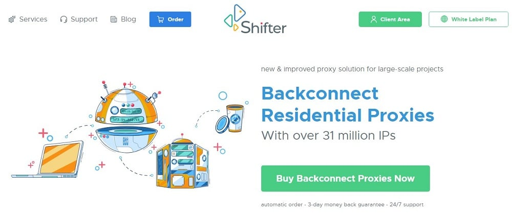 Shifter Residential Proxies Overview