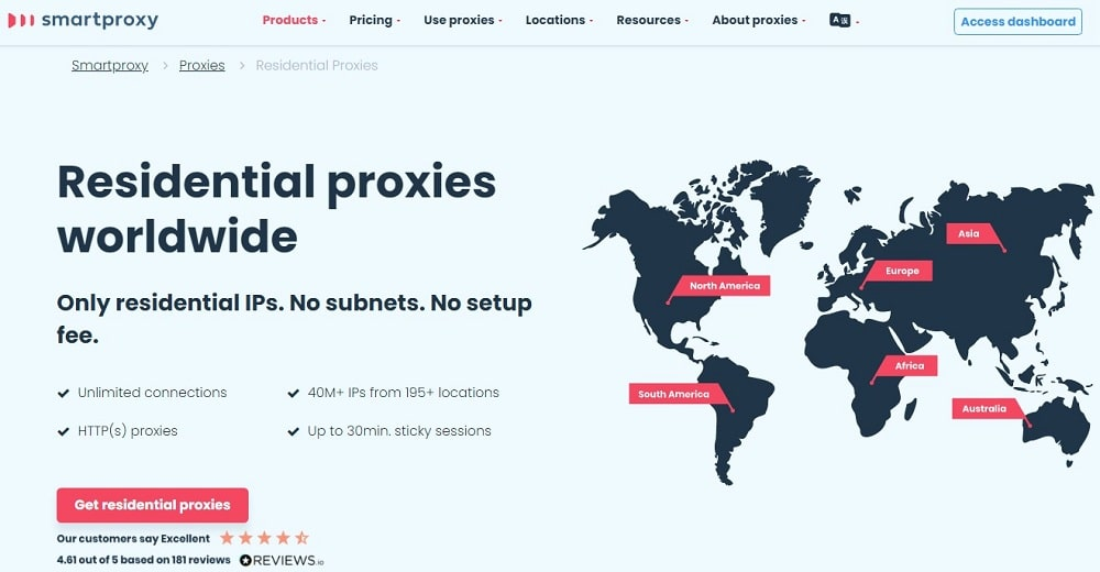 SmartProxy for Residential Overview