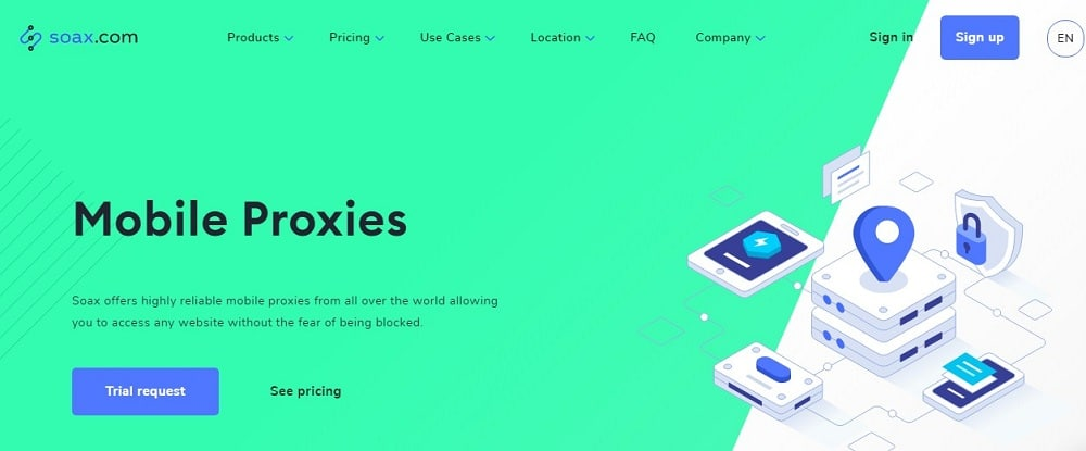 Soax Mobile proxies Overview