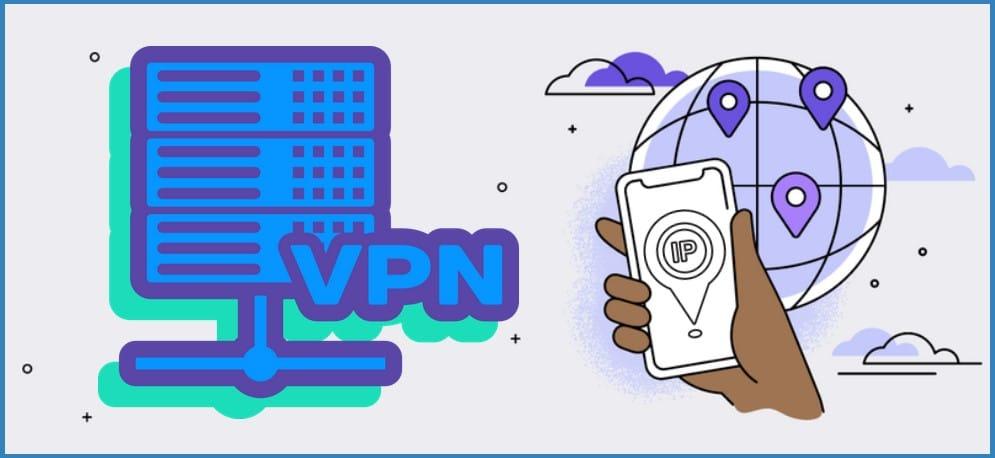 change IP address using VPN